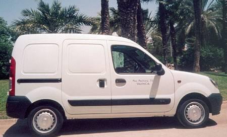 Alquiler furgoneta 2 plazas Valencia