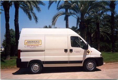 precios alquiler furgonetas valencia