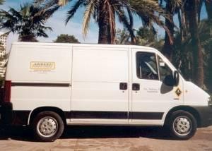 Alquiler furgoneta valencia Peugeot Boxer