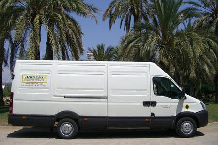 Alquiler furgoneta Valencia Iveco 16m3