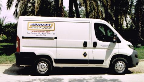 Alquiler furgoneta Valencia Jumper