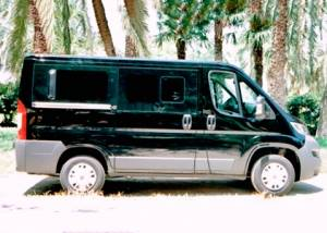 Alquiler furgoneta 9 plazas Valencia